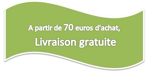 Livraison gratuite pour 70 euros d'achat