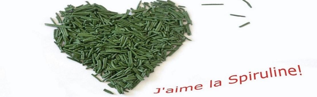 J'aime la spiruline française ! Nos experts en spiruline vous proposent une spiruline d'une qualité remarquable que vous pouvez acheter sur notre boutique en ligne ou sur place dans notre exploitation agricole située à Rancourt en France.